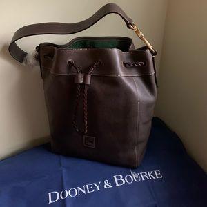 NWT Dooney & Bourke Florentine Leather Hattie Bag